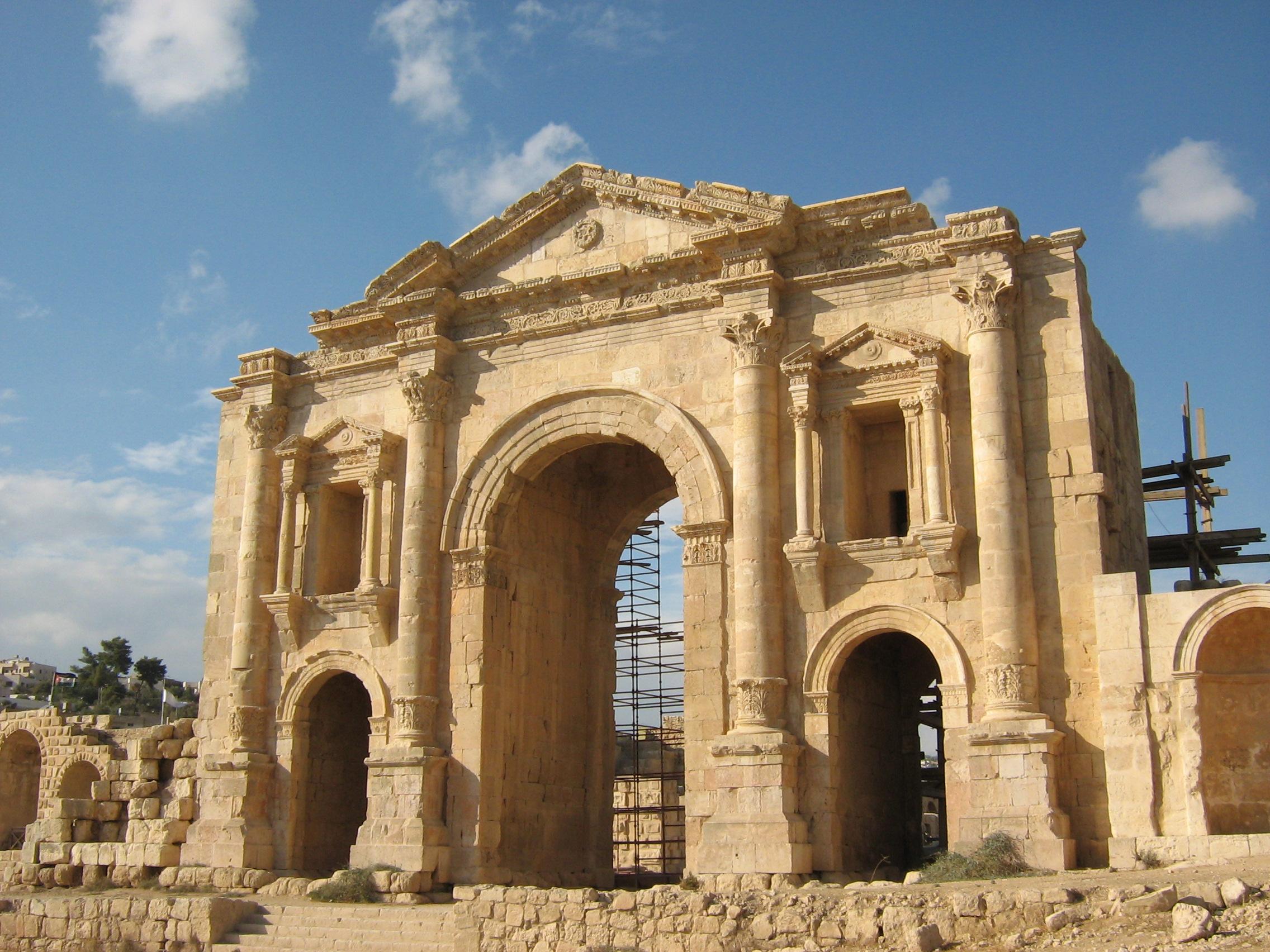 Day 2 Amman & Jerash  P and Es Weblog